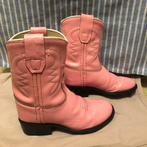 Little cowgirl boots